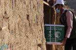 إغاثي سلمان يوزع أكثر من 64 طنًا من السلال الغذائية في حضرموت