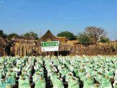 مركز الملك سلمان للإغاثة يواصل توزيع السلال الغذائية لمتضرري السيول في السودان