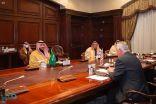 خالد بن سلمان يلتقي وكيل وزارة الدفاع الأمريكية للسياسات المكلّف
