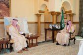 سمو نائب أمير مكة يستقبل رئيس جامعة جدة