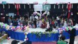 مركز الملك سلمان للإغاثة يكرم 400 امرأة يمنية معيلة بمحافظة مأرب