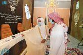 """""""آل الشيخ"""" يطلع على جاهزية مقر التصفيات النهائية للمسابقة المحلية على جائزة الملك سلمان للقرآن الكريم"""