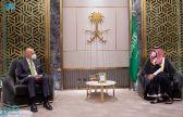 ولي العهد ووزير خارجية اليونان يستعرضان العلاقات الثنائية