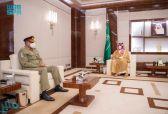 ولي العهد يلتقي قائد الجيش الباكستاني