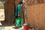 مركز الملك سلمان للإغاثة يدشن مشروع توزيع زكاة عيد الفطر في المهرة