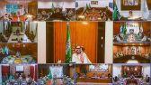 ولي العهد يعايد منسوبي وزارة الدفاع بمناسبة حلول عيد الفطر المبارك