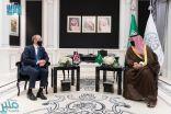 خالد بن سلمان يلتقي بوزير خارجية بريطانيا لبحث العلاقات الثنائية