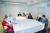 آل الشيخ يبحث مع مساعد مدير منظمة اليونسكو تبادل الخبرات وتجربة المملكة في التعليم الإلكتروني