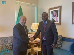 مندوب المملكة الدائم لدى الأمم المتحدة يلتقي نظيره البوروندي