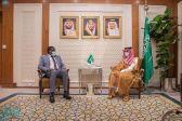 وزير الخارجية يستقبل عضو مجلس السيادة الإنتقالي بجمهورية السودان