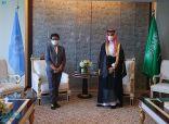 الأمير فيصل بن فرحان يلتقي وزيرة خارجية إندونيسيا