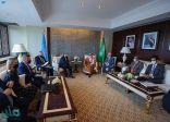 الأمير فيصل بن فرحان يلتقي وزير خارجية بولندا