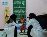 مركز الملك سلمان للإغاثة يواصل تنفيذ مشروع دعم التغذية للأطفال والأمهات باليمن