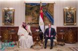 وسائل إعلام مصرية: ولي العهد والرئيس السيسي يتفقدان مشروعات قومية كبرى