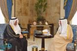 أمير مكة ونائبه يستقبلان وزير التعليم والرئيس التنفيذي للغذاء والدواء