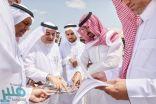 الأمير عبدالله بن بندر ينقل اجتماعه إلى الميدان لمطابقة الخرائط والتصاميم على أرض الواقع