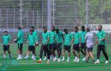الأخضر يختتم تدريباته في سانت بطرسبرغ تحضيرًا لمواجهة منتخب الأوروغواي