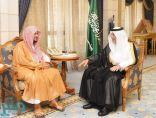 أمير مكه يستقبل أمين عام هيئة كبار العلماء عضو المجلس الأعلى للقضاء