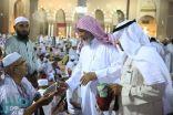 """""""دليلك لمواقع خدمتك"""" لذوي الاحتياجات الخاصة بالمسجد النبوي"""