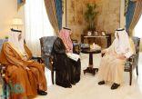 الأمير خالد الفيصل يستقبل الرئيس التنفيذي المكلف لمدينة الملك عبدالله الاقتصادية