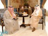 الأمير خالد الفيصل يطلع على أعمال المركز الوطني للمنشآت التجارية العائلية