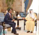 الأمير خالد الفيصل يستقبل قنصلي أثيوبيا وبريطانيا