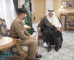 أمير مكة يستقبل قائد قوة أمن المسجد الحرام