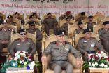 """الفريق """"العمرو"""" يرعي حفل تخريج دورة أعمال الدفاع المدني التأهيلية للضباط  (47 )"""