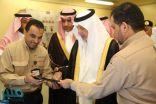 أمير مكة يطلق التيار الكهربائي لمخططات ولي العهد