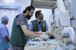 مركز الملك سلمان للإغاثة يجري 5 عمليات قلب مفتوح و13 عملية قسطرة بالمكلا
