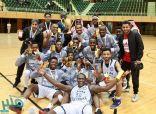 جامعة طيبة تتوج ببطولة السلة للجامعات للمرة الثالثة على التوالي