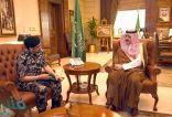 الأمير مشعل بن ماجد يستقبل قائد قوة أمن المنشآت بمنطقة مكة المكرمة
