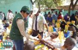 مركز الملك سلمان للإغاثة يوزع 1,500 سلة غذائية لمتضرري الفيضانات في الصومال
