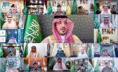 الأمير عبدالعزيز بن سعود ينقل تحيات القيادة وتهنئتها لمنسوبي وزارة الداخلية