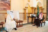 نائب أمير مكة يستقبل أمين الطائف المُعين حديثًا