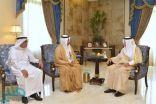 أمير مكة يستقبل رئيس القطاع الغربي لشركة الكهرباء