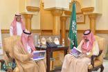نائب أمير مكة يستقبل مدير فرع وزارة الإسكان بالمنطقة