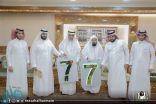 الشيخ السديس يدشّن مشروع ترقيم الأبواب بالحرم المكي
