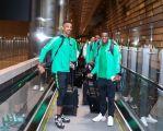 بالصور .. بعثة الأخضر تصل قطر للمشاركة في كأس الخليج 24