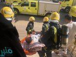 مكة.. إخلاء 22 شخصًا من حريق شقة سكنية
