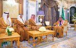 """أمام """"خادم الحرمين"""".. وزراء الرياضة والسياحة والاستثمار يؤدون القسم"""