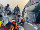 """""""حرس الحدود"""" يخلي بحاراً هندياً على متن سفينة في مياه البحر الأحمر"""