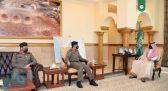 نائب أمير مكة يستقبل مديري مرور جدة والعاصمة المقدسة