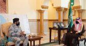 نائب أمير مكة يستقبل قائد قطاع حرس الحدود بالمنطقة