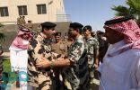 قائد قوات أمن الحج يتفقد استعدادات قوة أمن الحج للمجاهدين