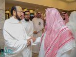 """""""آل الشيخ"""" يتفقد الخدمات المقدمة لضيوف الرحمن مع وصولهم لمشعر منى"""