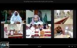 وزير الشؤون الاسلامية يقوم بجولة افتراضية على المشاعر المقدسة استعدادا لاستقبال ضيوف الرحمن