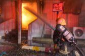 «مدني جدة» يُباشر حادث حريق في عدد من بركسات محطة القطار