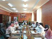 بلدي بارق يناقش استعدادات البلدية للشتاء والحالات المطرية