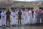 """رئيس مركز بحر أبو سكينة يستقبل جثمان شهيد الواجب """"المرضي"""""""